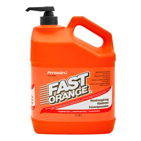 PERMATEX FAST ORANGE HANDTVÄTTMEDEL 3,78L